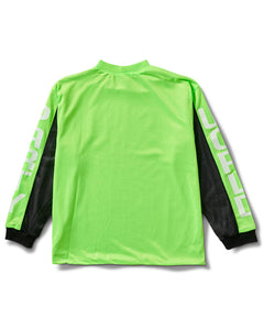 World Party Jersey Neon Green