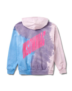 In the Clouds Hoody Purple Tie Dye