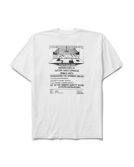 Console Co. Tee White