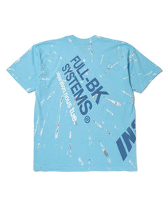 Full BK Blast Tie Dye Tee Light Blue