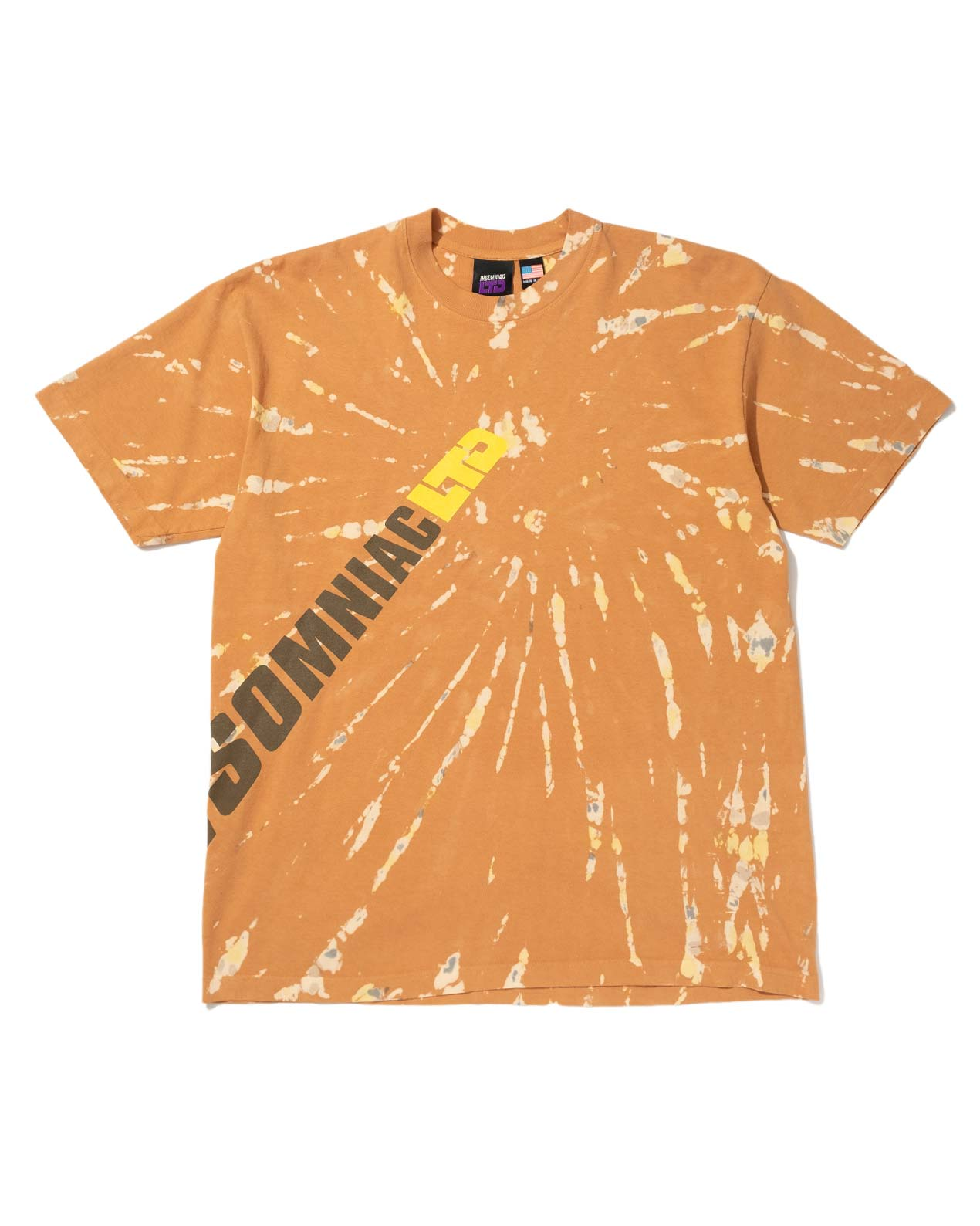 Full BK Blast Tie Dye Tee Brown