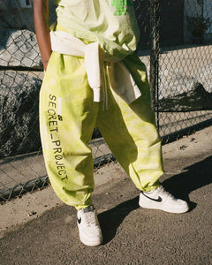 Secret Project Baggy Pull On Pant Yellow