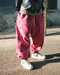 Secret Project Baggy Pull On Pant Pink