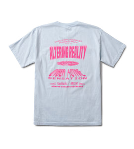 Altering Reality Tee Light Blue