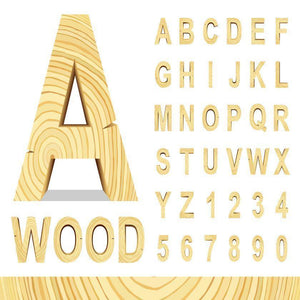 Wood letters and Numbers | Custom CNC machined wood | Wood logos | Indoor and outdoor signage