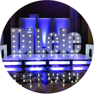 Marquee letter and numbers - giant marquee letters and numbers with lights