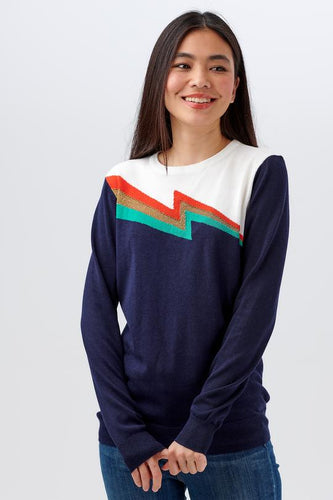 Rita Flash Split Sweater