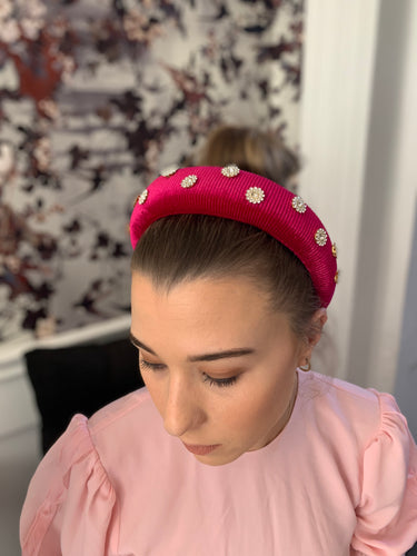 Edina Hairband Cerise