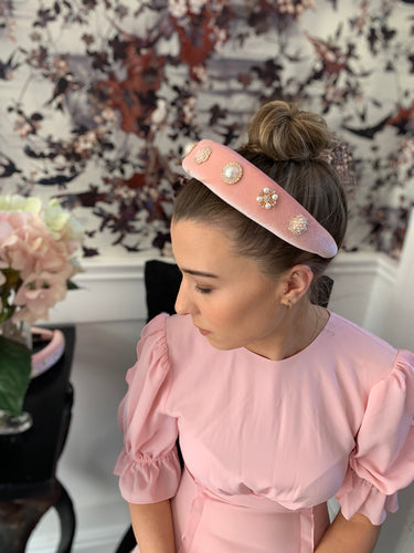 Emma Hairband Pink
