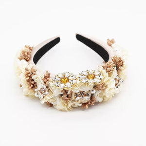 Daisy Hairband Ivory