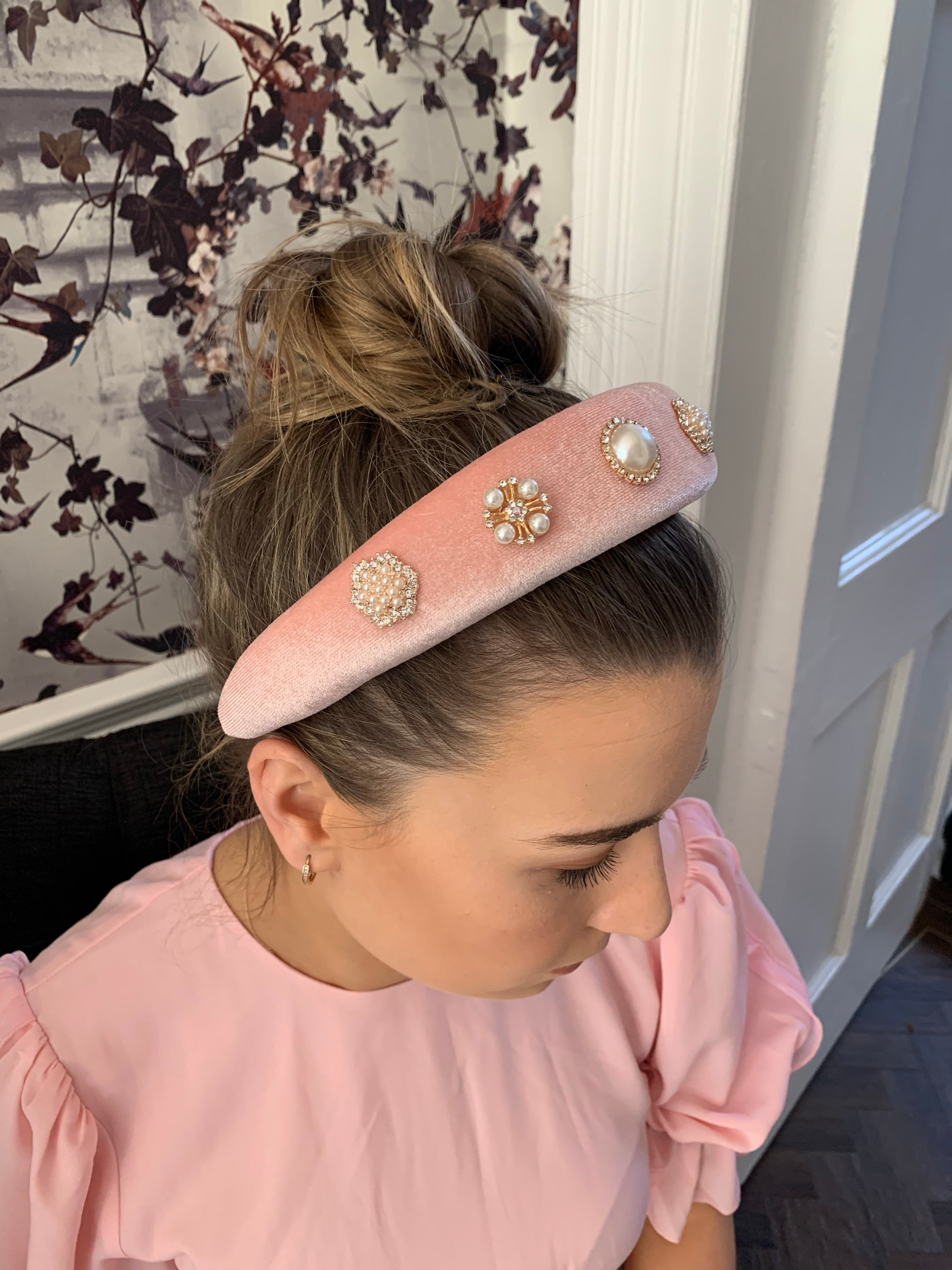 Load image into Gallery viewer, Emma Hairband Pink