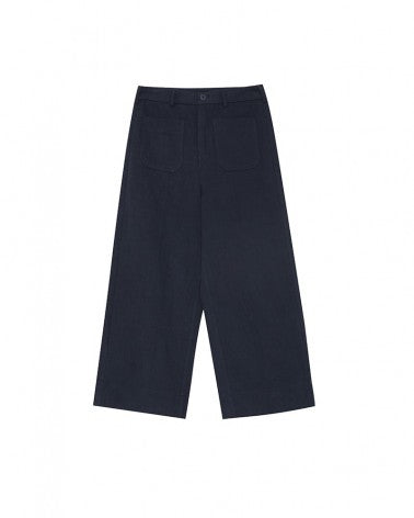 Load image into Gallery viewer, BASIL TROUSERS NAVY