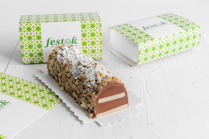 Festok Chocolate & Marzipan Log (pre-order)