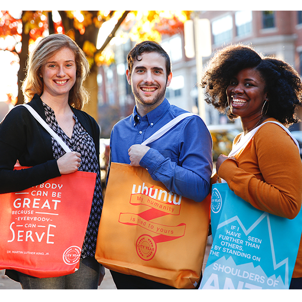 City Year  - Everybody Can Serve - Tote