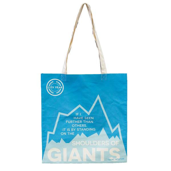 City Year  - Shoulders of Giants - Tote