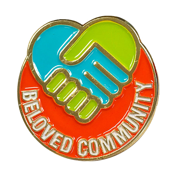 Enamel Pin  - Beloved Community