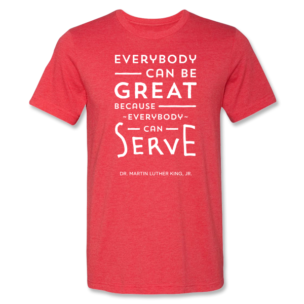 City Year  - Everybody Can Be Great Tee