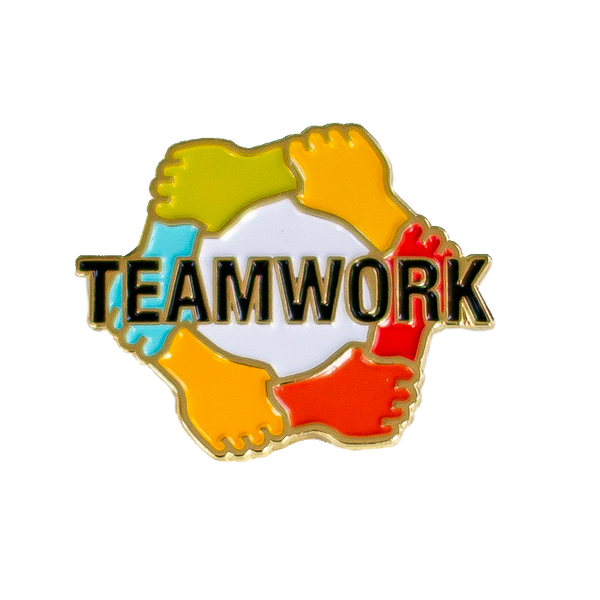 Enamel Pin - Teamwork