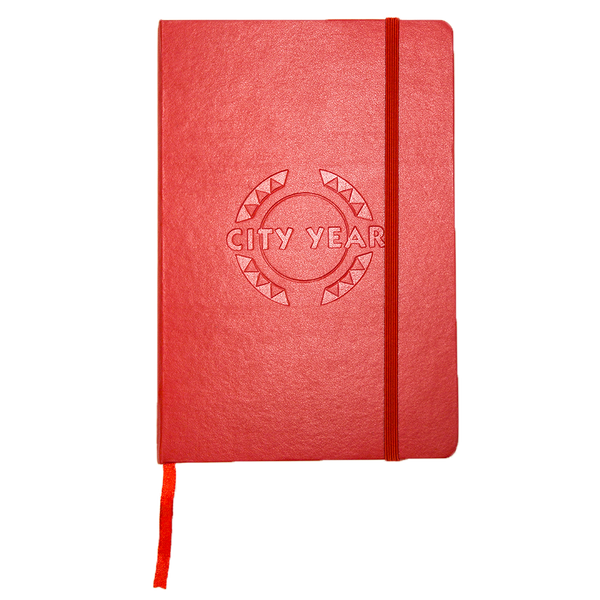 Red Journal Debossed Logo (Restocked!)
