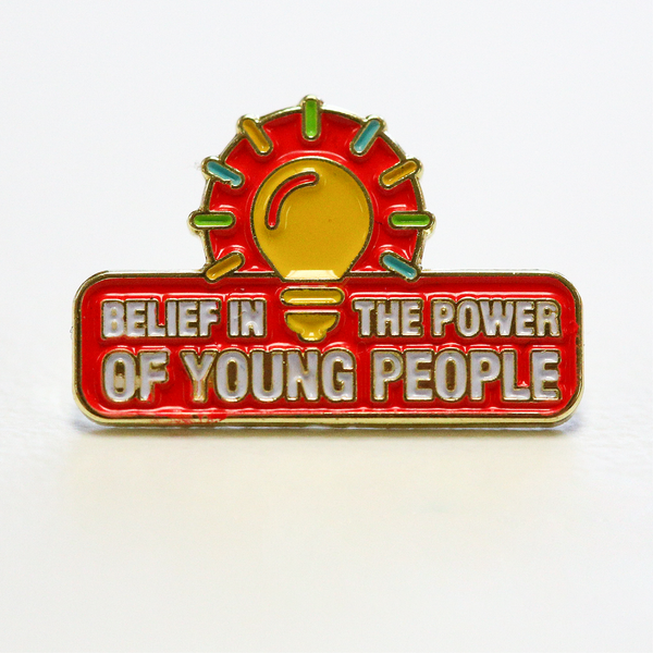 City Year  - Belief In The Power Of Young People - Lapel Pin