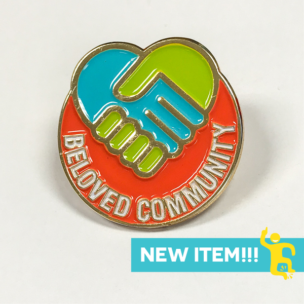 City Year  - Beloved Community - Lapel Pin