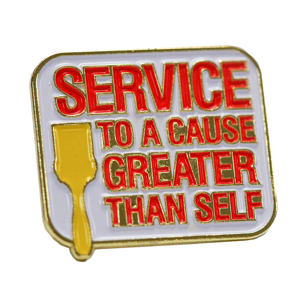 Enamel Pin - Service To A Cause