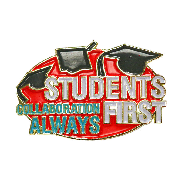 Enamel Pin - Students First