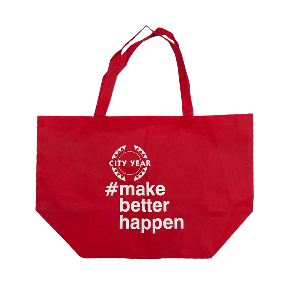 #makebetterhappen Tote Bag