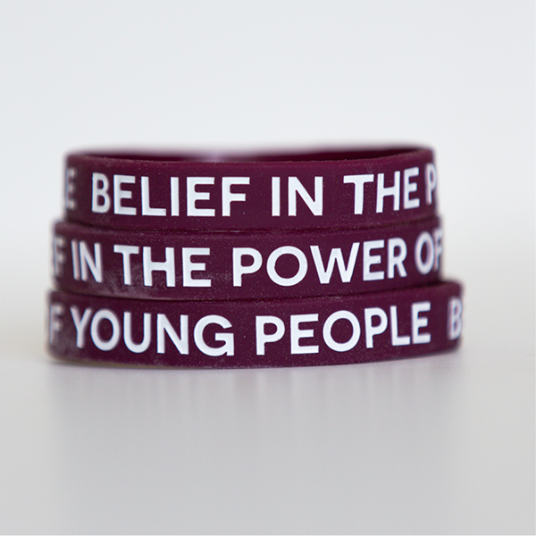 Belief in The Power of Young People - Wristband