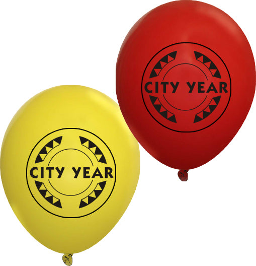 Red City Year Balloon