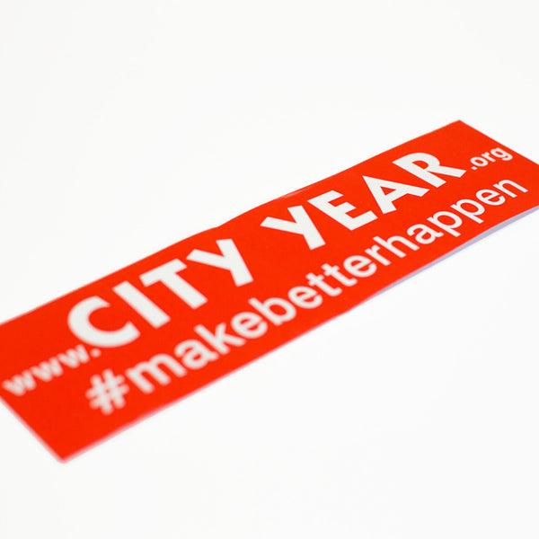 City Year Bumper Sticker