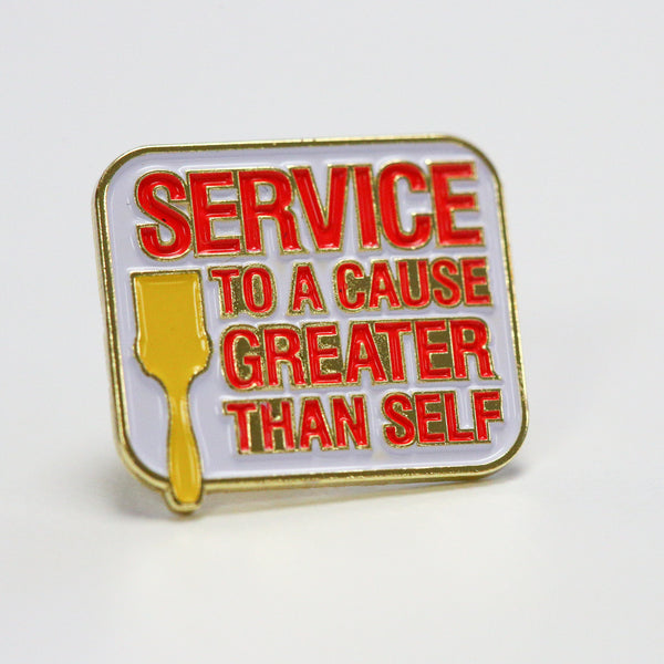 City Year  - Service To A Cause - Lapel Pin