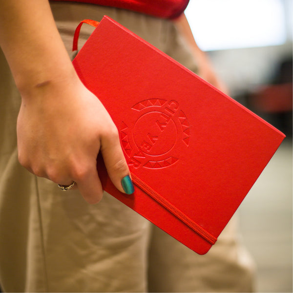 City Year Debossed Red Journal