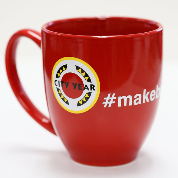 City Year - #makebetterhappen - Mug
