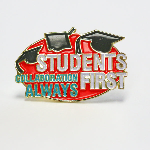 City Year  - Students First - Lapel Pin