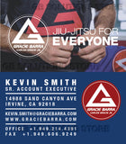 Gracie Barra School Business Card