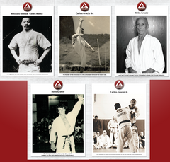 Gracie Barra Legacy Poster Set