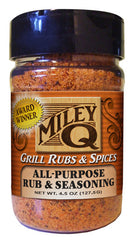All-Purpose Rub & Seasoning - Miley Brands Grill Rubs & Spices