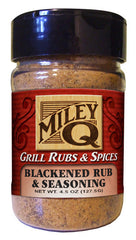 Blackened Rub & Seasoning - Miley Brands Grill Rubs & Spices