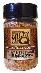 Meat & Veggie Seasoning - Miley Brands Grill Rubs & Spices