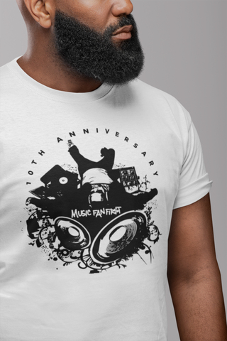 10th Anniversary Music Fan First Men's T-Shirt