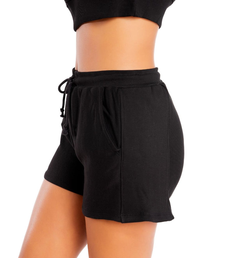 High Waisted Sweat Short
