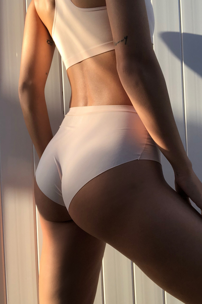 Pearl Blush Seamless High Waisted Panty