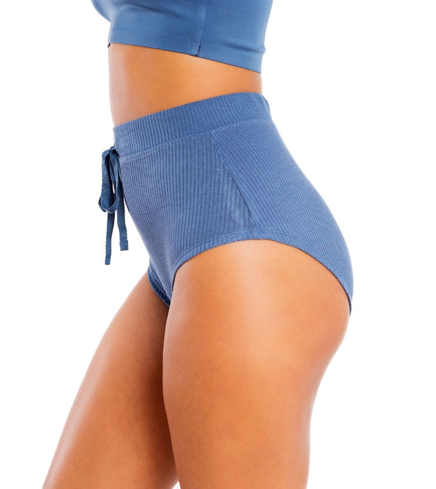High Waisted Ribbed Panty
