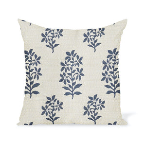 Peter Dunham Textiles Outdoor Asha in Indigo/White