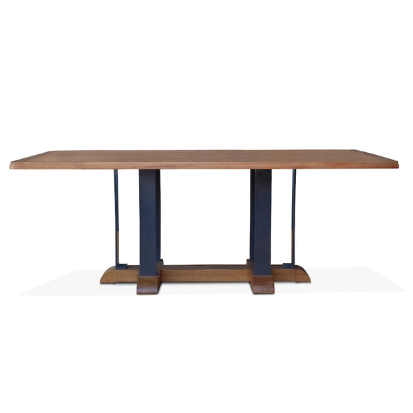 Indoor/Outdoor Montecito Teak Dining Table – Hollywood At Home