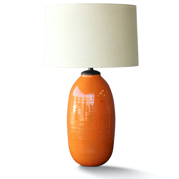 Natan Moss Tall Desert Orange Lamp