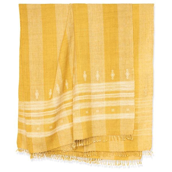 Patna Bedcover in Yellow