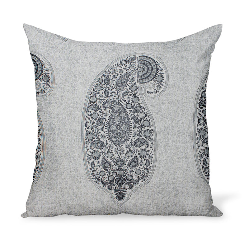 Peter Dunham Textiles Isfahan in Charcoal Pillow