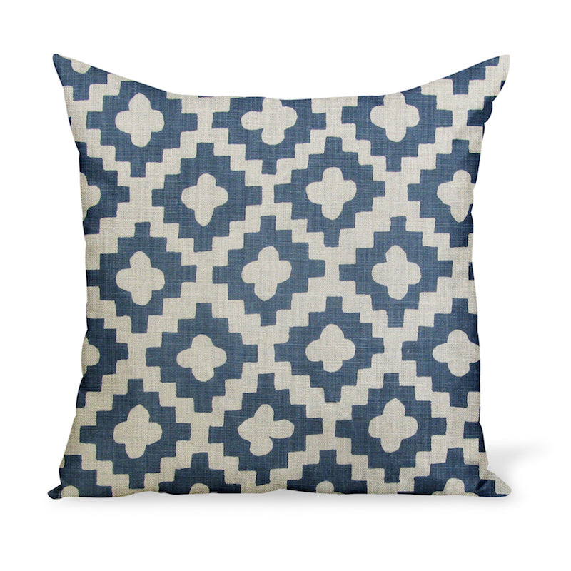 Peter Dunham Textiles Peterazzi in Indigo Pillow